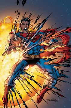 Fry, Superman, fry! The battle between Kalibak and Superman rages on as the denizens of Apokolips cheer. And Darkseid's homeworld unleashes a weapon that will permanently transmute the terran solar sy