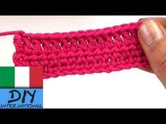 Uncinetto lezione 1: Catenella, maglia bassa e maglia alta - YouTube