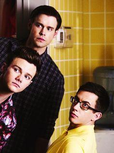 Sam Evans, Kurt Hummel & Artie Abrams   Glee