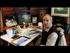 How to Paint with Water Part 1 With Tom Lynch - YouTube