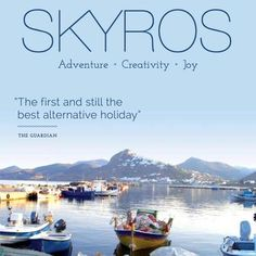 Skyros Holidays on Twitter, follow us for regular updates! Greece Islands, Crete, Solo Travel, The Guardian, West Coast, Landscapes, Yoga, Holidays, Adventure