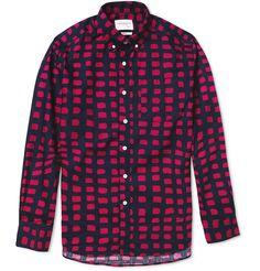 Saturdays Surf NYC Crosby Printed Button-Down Collar Cotton Shirt | MR PORTER