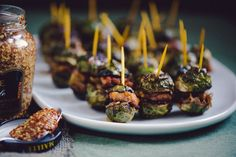 Brussels Sprout Sliders - I was told I need to make these for the next get together
