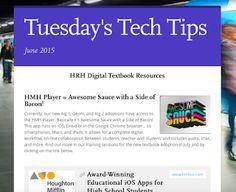 June 2015 Tech Tips | #EdTech @BEST3ch