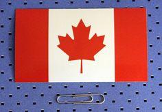 Canada Flag Bumper S