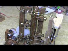 Repaired marble machine - YouTube