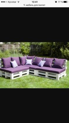 мебель из паллет(поддонов),для дачи,дома и кафе7
