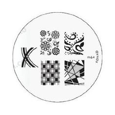 Konad Stamping Nail Art 9 French Manicure Image Plates M19.m44.m45.m56.m60.m61.m62.m63.m64. *** Continue to the product at the image link.