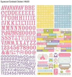 Winter 2015 Reveal Day 3 - #Enchanted |#SimpleStories cardstock stickers!