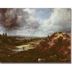Trademark Fine Art Branch Hill Pond Canvas Art by John Constable, Size: 18 x 24, Multicolor