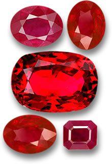 Burmese rubies