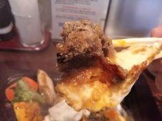 -OTONA NO HAMBURGER- Harmony of  fried egg and minced meat and cheese. Hamburger 200g $12.30 http://alike.jp/restaurant/target_top/1114656/