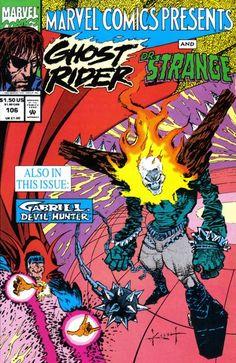 Marvel Comics Presents # 106 by Sam Kieth