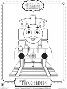 happy birthday thomas the train coloring pages - Google Search