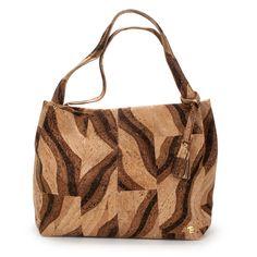 25% off Cork Handbags -  Julia, Bengal Tiger - Elegant Fashion made by Nature