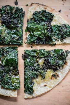 grilled kale + cheese stuffed tortillas