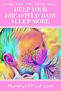 Doing This One Thing While Breastfeeding Will Help You Get More Sleep | Mummy Of Four