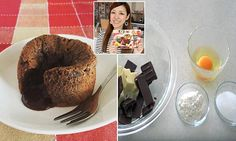 Ochikeron's five ingredient chocolate lava cake recipe | Daily Mail Online