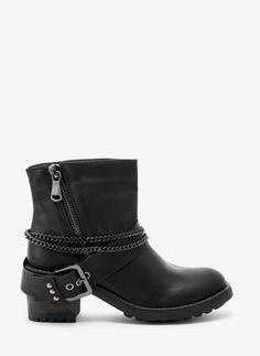 Botki Stephany Black Booties / Botki / Obuwie damskie - Modne buty, stylowe ubrania i obuwie damskie, sklep z butami i ubraniami, modne buty letnie i zimowe - DeeZee.pl