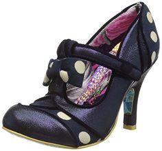 34d0d2c2a09073 Irregular Choice - Dotty Lotty Blue - UK6 EU39 · PumpsBlauIrregular Choice  SchuheStilModeSchöne SchuhePeep ToeSchuh
