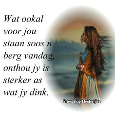 Afrikaans Quotes, Inspirational
