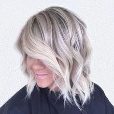 Light ash blonde hair color (Melissa Caroline Hudson)                                                                                                                                                     More