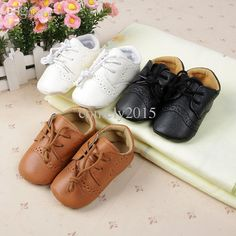 9defa609e0263 2019 Wholesale Baby Boys Girls First Walkers Toddler Infant Newborn Shoes  Hot Selling Lace Up Brand PU Leather New 2015 From Comely2015