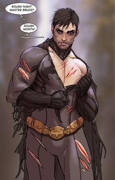 Superhero Dudes Get the Pin-Up Treatment