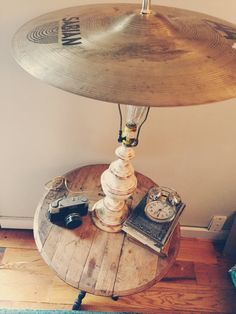 Cymbal Lamp by DontForgetToFly on Etsy