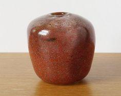BENNY MOTZFELDT Handblown Glass Vase; 1970s Retro PLUS Norwegian Studio Art Glass