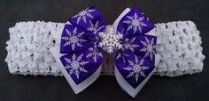 Christmas Headband Snowflake by GloriaMillerCreation