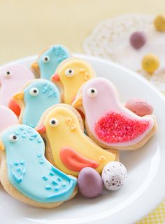 Bake and Bait // Bird, Chick or Duckling? (Sugar Cookies and Royal Icing Recipe)
