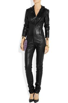 HAKAAN  Nury leather jumpsuit