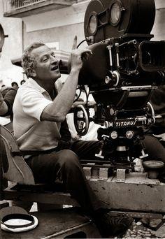 Jules Dassin (American born French & Greek film noir & heist filmmaker: Brute Force [1947], The Naked City [1948], Thieves' Highway [1949], Du rififi chez les hommes [Rififi, 1955], Ποτέ Την Κυριακή [Never on Sunday, 1960])