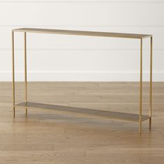 Jacque Brass Console Table at Crate and Barrel Canada. Discover unique furniture and decor from across the globe to create a look you love. Entryway Furniture, Living Furniture, Unique Furniture, Custom Furniture, Entryway Decor, Entryway Tables, Home Furniture, Apartment Furniture, Brass Console Table