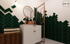 Wall Lights, Vanity, Interior Design, Bathroom, Lighting, Home Decor, Dressing Tables, Nest Design, Washroom