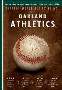 MLB Vintage World Series Films - Oakland A's 1972, 1973, 1974 & 1989: Reggie Jackson, Catfish Hunter, Mark McGwire, Jose Canseco, Rollie Fingers