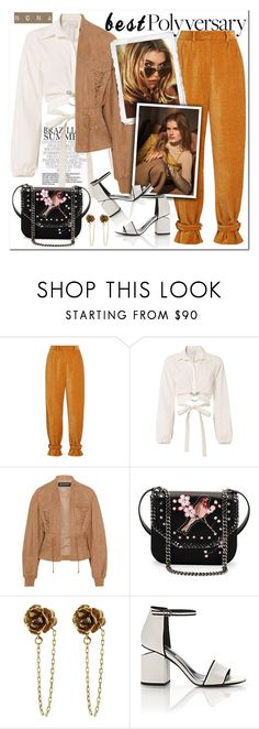 """""""Happy Birthday Polyvore!"""" by delunaray ❤ liked on Polyvore featuring Hillier Bartley, Cinq à Sept, Balmain, STELLA McCARTNEY, Marc Jacobs, Alexander Wang, polyversary and contestentry"""