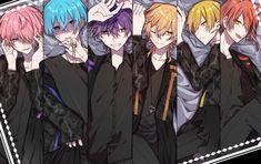 Diabolik Lovers, Super Hero Life, Kawaii, Cute Anime Guys, Blue Hair, Cute Art, Art Girl, My Drawings, Jelsa
