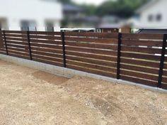 DIY 自作ウッドフェンス