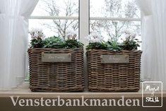Op zoek naar iets wat uw vensterbank kan sieren? Mand & Stijl heeft een divers aanbod van vensterbankmanden.
