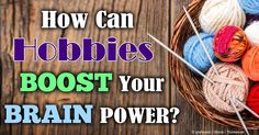 Research shows that crafting, such as knitting, quilting, and crocheting, helps improve your brain health and happiness. http://articles.mercola.com/sites/articles/archive/2014/11/06/crafting-knitting.aspx