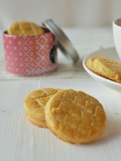 MON CAFÉ: Francouzské sušenky Sablés