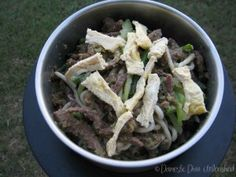 Beef stir fry with Udon Noodles. I love making this dish when we are camping. It is quick and easy utilising the Varoma. If you do not have a Thermomix or you are without power when camping, I have done this over gas in a wok / large frying pan. This dish is suitable for the failsafe diet.