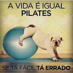 Life is like Pilates, if it's easy, it's wrong! More Than Words, Some Words, Personal Trainer Website, Funny Posts, Funny Cute, Funny Images, Have Fun, Jokes, Thoughts