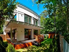 www.blueapart.pl Mansions, House Styles, Blue, Home Decor, Decoration Home, Manor Houses, Room Decor, Villas, Mansion