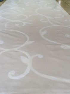make a floor cloth from a drop cloth, diy, flooring, how to, reupholster No Sew Curtains, Drop Cloth Curtains, Stencil Rug, Drop Cloth Projects, Inexpensive Rugs, Rope Rug, Canvas Drop Cloths, Faux Fur Rug, Floor Cloth