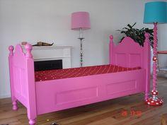 Roze barok bed (van Happykidsart)