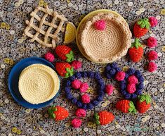 Crochet Diy, Crochet Food, Cake Craft, Diy And Crafts, Crochet Patterns, Diys, Knitting, Baby Dan, Couture