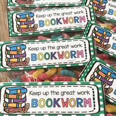 Bookworm bag topper
